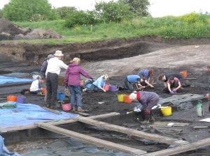 Star Carr excavations in, June 2014